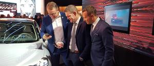 Stian Gihle, Thorbjørn Myrhaug og Thomas Christensen
