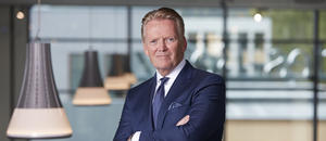 Bjørn Maarud, konsernsjef i Bertel O. Steen