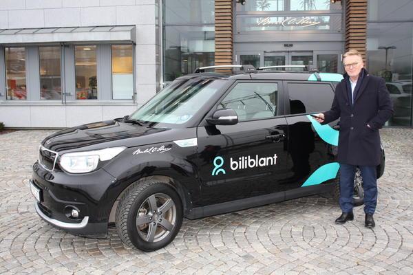 Biliblant er en tjeneste som gir enkel tilgang på biler for de som bor i borettslag og sameier, sier Bjørn Maarud, konsernsjef i Berte O. Steen.