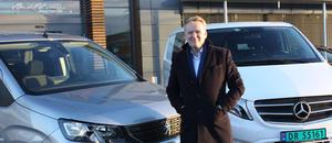 - Styrken til Bertel O. Steeen er av vi har mange merker og stor bredde i vårt varebilutvalg, sier konsernsjef Bjørn Maarud.