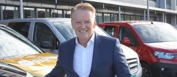 Bjørn Maarud og varebiler