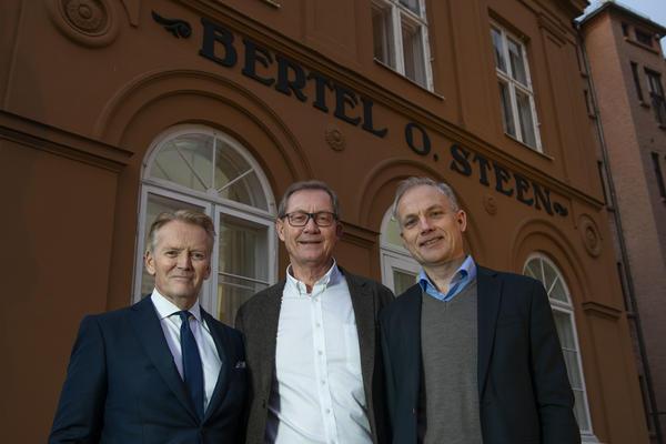 Bjørn Maarud, Sverre Leiro og Harald Frigstad.