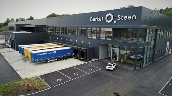 Bertel O. Steens nye logistikkbygg på Berger