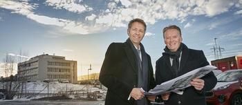 Øivind Solbakken og Bjørn Maarud