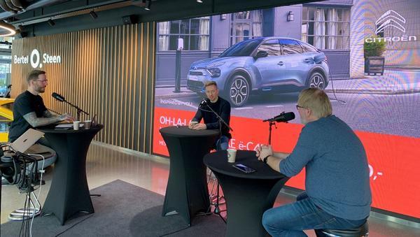 Håvard Tvedten er en av gjestene i Bertel O. Steens nye podcast «Bak rattet» og prater om sitt forhold til bil med programlederne Erlend Osnes og Stein Pettersen.