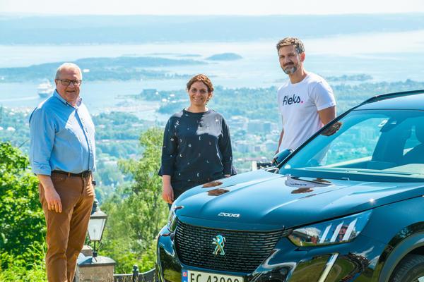 Rune Surland, Simona Trombetta og Petter Kjøs Utengen
