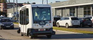 Selvkjørende minibuss