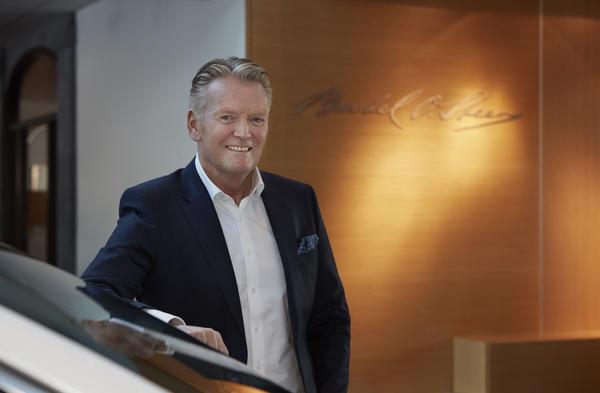 Konsernsjef Bjørn Maarud ser frem til å få Opel i porteføljen til Bertel O. Steen