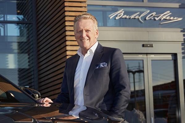 Bjørn Maarud, konsernsjef i Bertel O. Steen, er glad for at formalitetene i forbindelse med oppkjøpet av Opel Norge er på plass